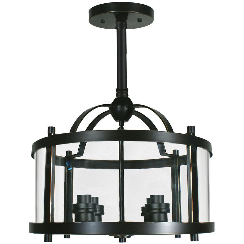 Vermont 4 Light Rod Pendant, 2 Colour Options - crystal-palace-lighting