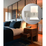 VIGO LED Wall/Reading Light with USB - Crystal Palace Lighting