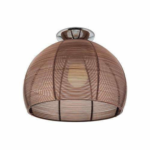Arden Batten Fix Light in Coffee Brown - Crystal Palace Lighting