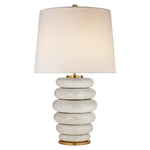 PHOEBE STACKED TABLE LAMP BY KELLY WEARSTLER - Crystal Palace Lighting
