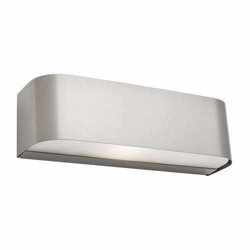Benson Wall Light in Satin Chrome Silver - Crystal Palace Lighting