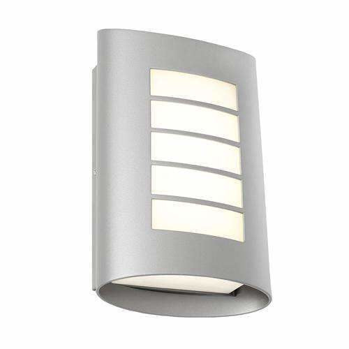 Bicheno Exterior Wall Light in Silver - Crystal Palace Lighting