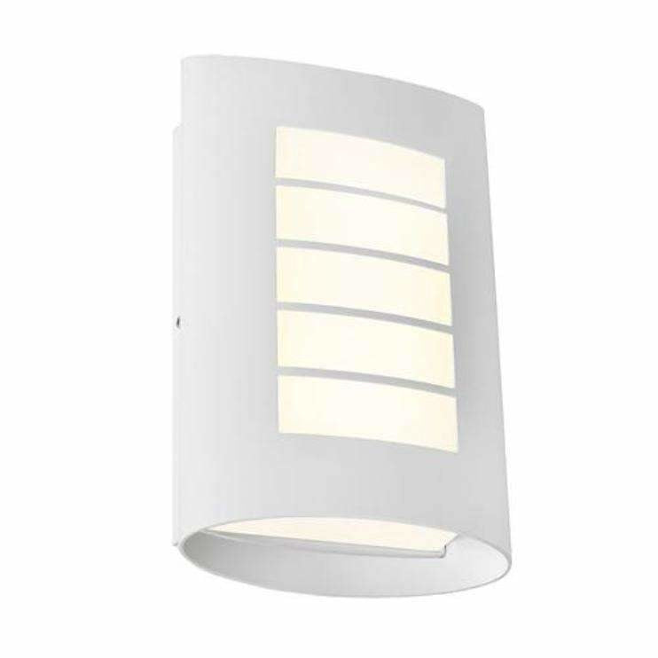 Bicheno Exterior Wall Light in White - Crystal Palace Lighting
