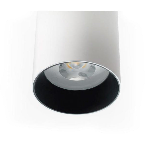 Surface Mounted LED Downlight D2000 SHX Curve 24W in Black or White