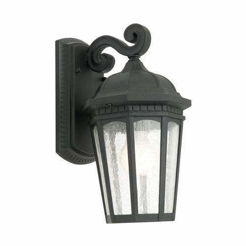Cambridge Exterior Coach Wall Light in Black - Crystal Palace Lighting