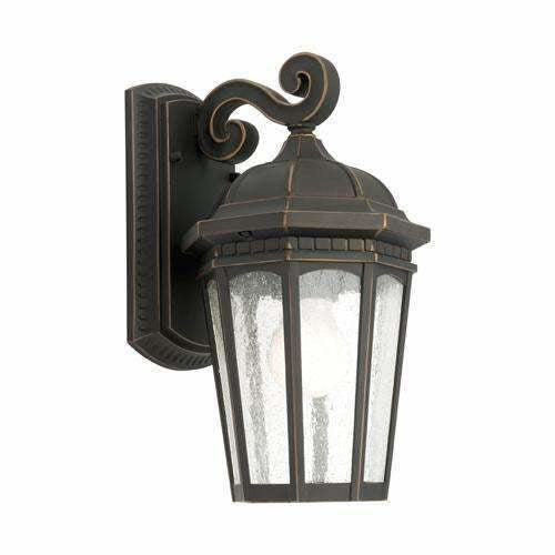 Cambridge Exterior Coach Wall Light in Bronze - crystal-palace-lighting