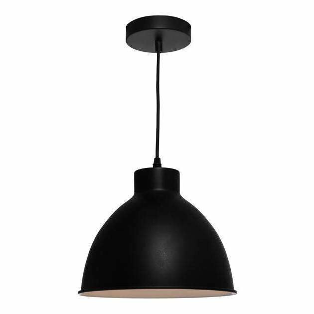 Dome Pendant in Black - Crystal Palace Lighting