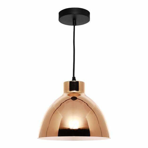 Dome Pendant in Gold - crystal-palace-lighting