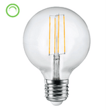 G95 LED 6 Watt Dimmable E27 or B22 Base - Crystal Palace Lighting