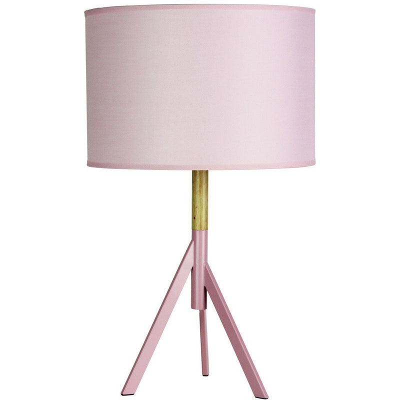 Micky Tripod Table Lamp in Blush Pink - Crystal Palace Lighting