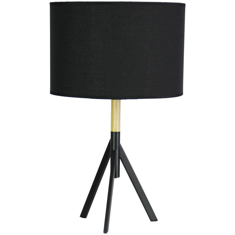 Micky Tripod Table Lamp in Matte Black - Crystal Palace Lighting