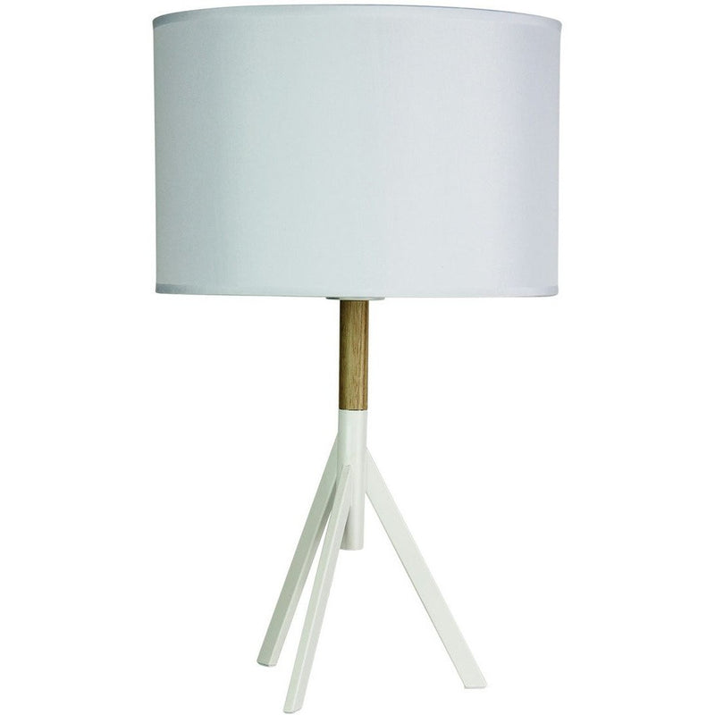 Micky Tripod Table Lamp in Milky White - Crystal Palace Lighting