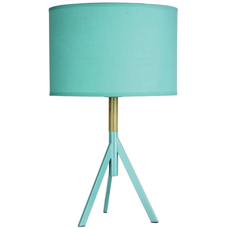 Micky Tripod Table Lamp in Mint Green - Crystal Palace Lighting