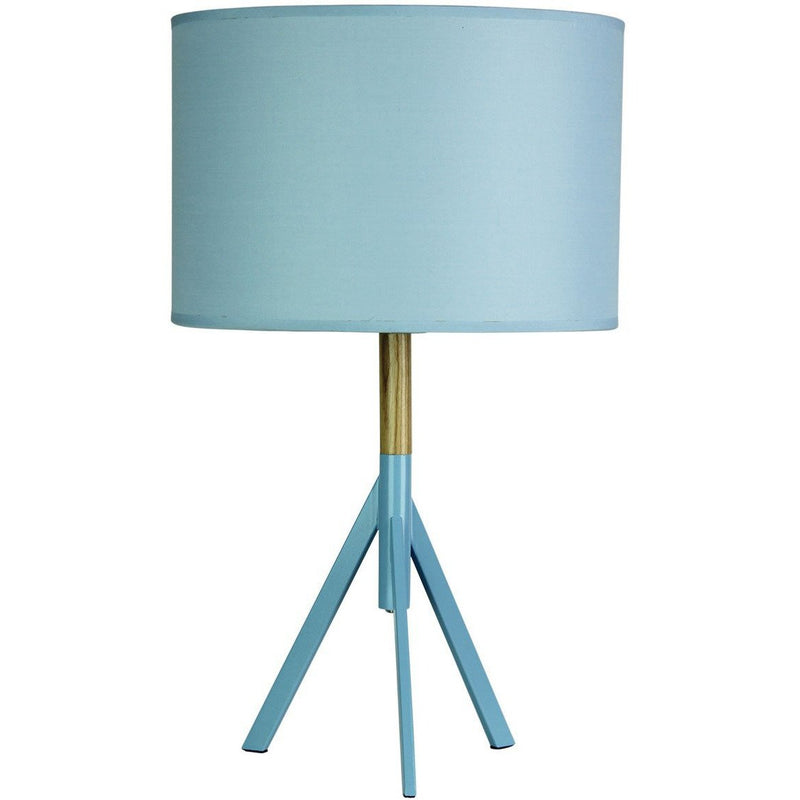 Micky Tripod Table Lamp in Powder Blue - Crystal Palace Lighting