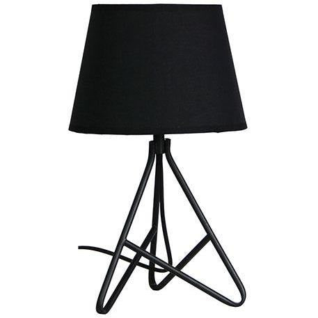 Nolita Table Lamp in Matte Black - Crystal Palace Lighting