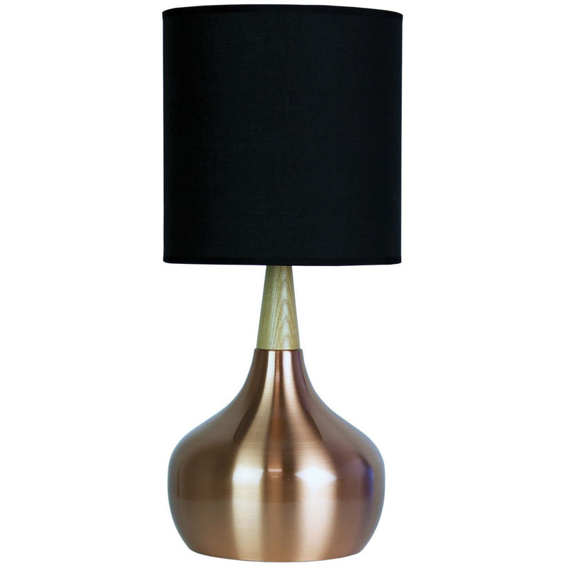 Pod Table Lamp in Copper - Crystal Palace Lighting