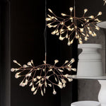 Replica Heracleum Rose Gold Pendant in two sizes - Crystal Palace Lighting