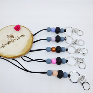 Lanyards with Silicone Beads