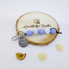 Load image into Gallery viewer, Mother's Day Round Bead Keyrings