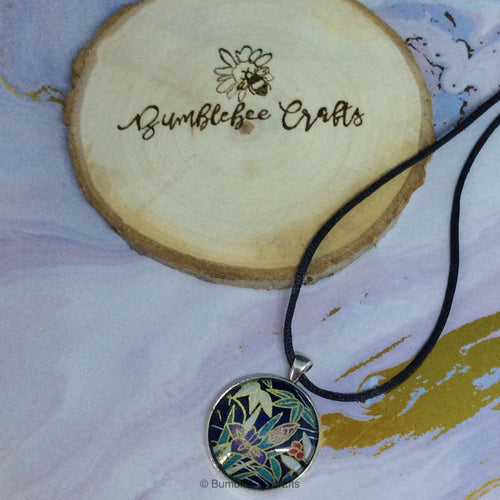 Floral Japanese Pendant - Bumblebee Crafts