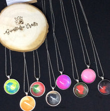 Load image into Gallery viewer, Swirly Clay Pendants - Bumblebee Crafts