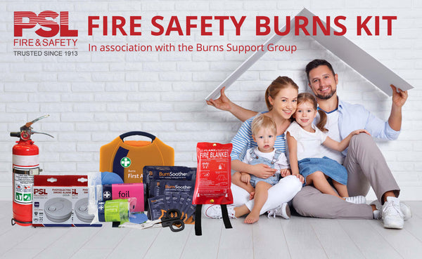 The Fire Safety Burns Kit
