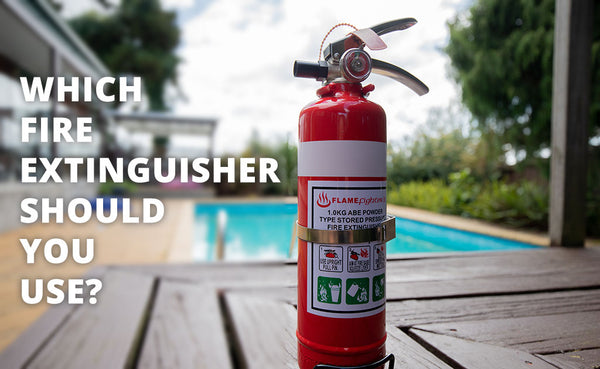 Which fire extinguisher should I buy?