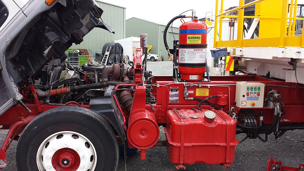 Heavy Vehicle Fire Suppression Systems