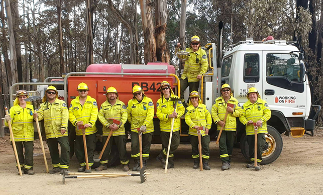 NZ Volunteers Australian Bush FIres