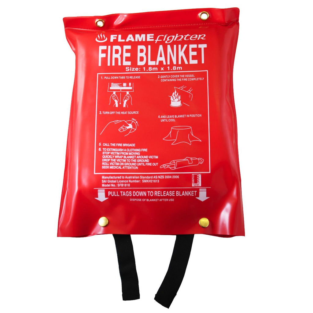 Flamefighter Fire Blankets 1.8m x 1.8m
