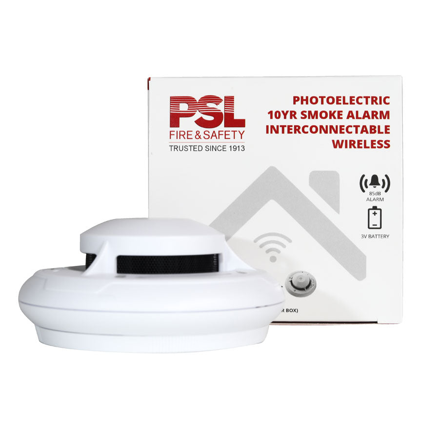 10 Year Photoelectric Wireless Smoke Alarm 2020