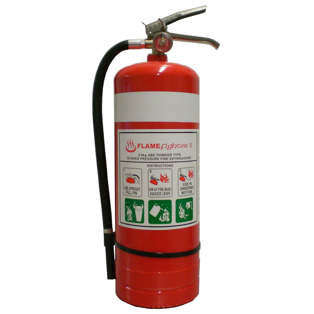 Flamefighter 6kg ABE Dry Powder Fire Extinguishers