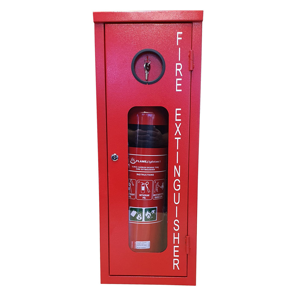 Flamefighter Lockable Extinguisher Cabinet