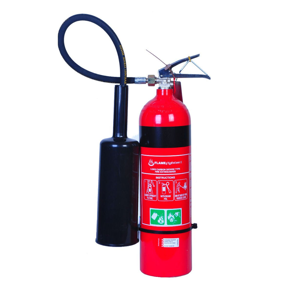 Flamefighter 3.5kg CO2 Extinguishers