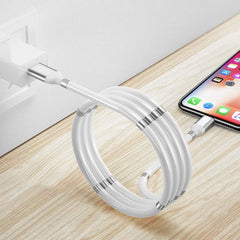 Supercalla Magnetic Charging Cable 1M White