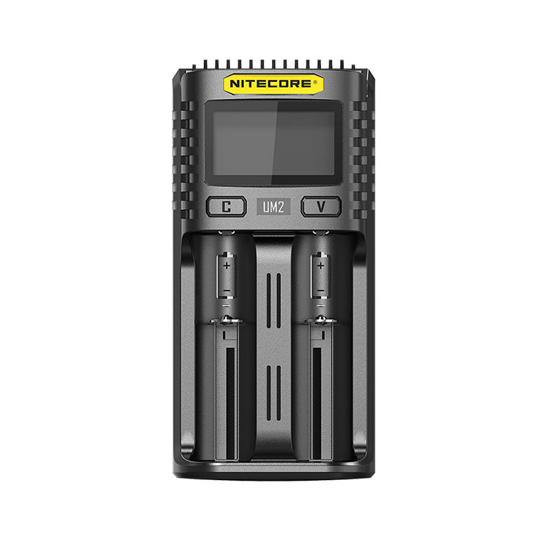 UM2 Nitecore 2 bay USB battery charger