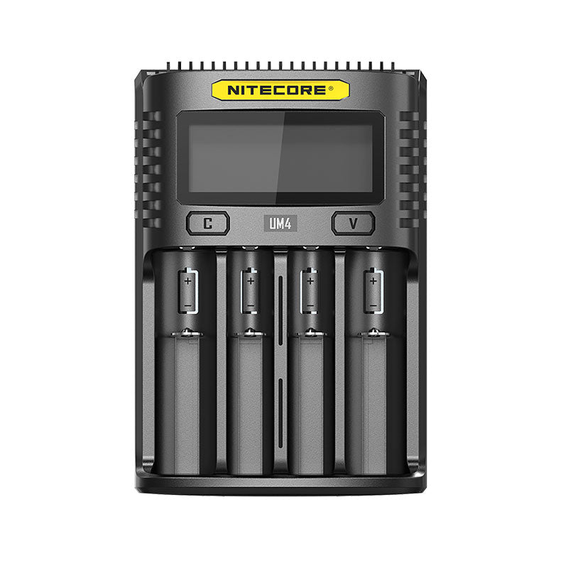 UM4 Nitecore Four Bay USB Battery Charger