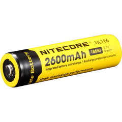 Nitecore 18650 Li-Ion Rechargeable Battery (3.7V, 2600mAh)