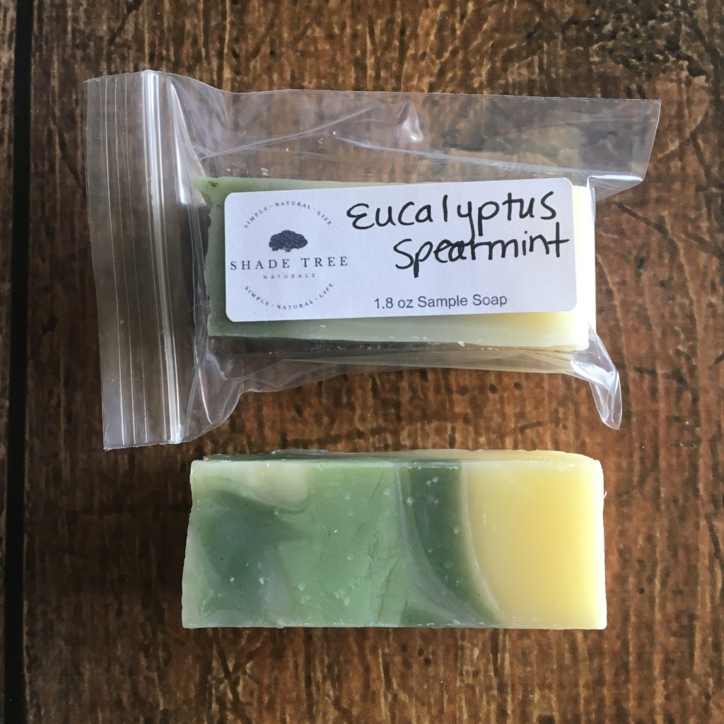 Eucalyptus Spearmint Soap Sample