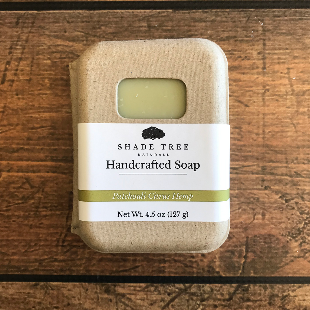 Patchouli Citrus Hemp Soap