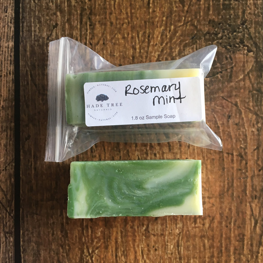 Rosemary Mint Soap Sample