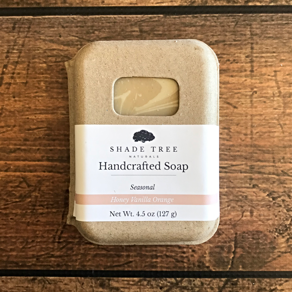 *SCRATCH AND DENT* Honey Vanilla Orange Soap (Seasonal)