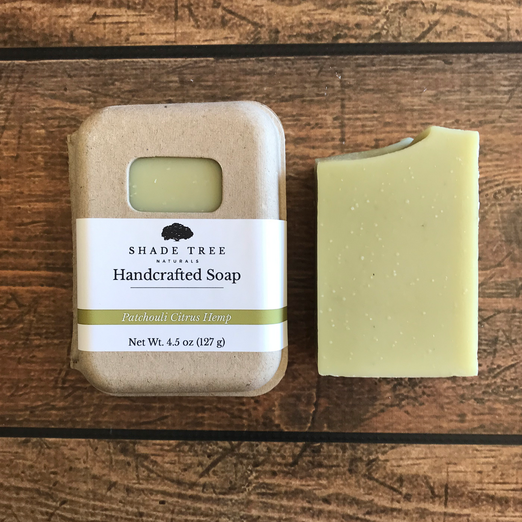 Patchouli Citrus Hemp Soap Sample (Limited Edition)