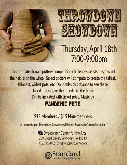 Sweetwater Center For The Arts: Throwdown Showdown