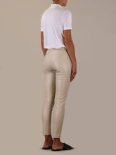 Load image into Gallery viewer, Rino & Pelle - Leonne Faux Leather Trouser - White Swan
