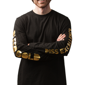 BGPE Gold Foil Long Sleeve Tee