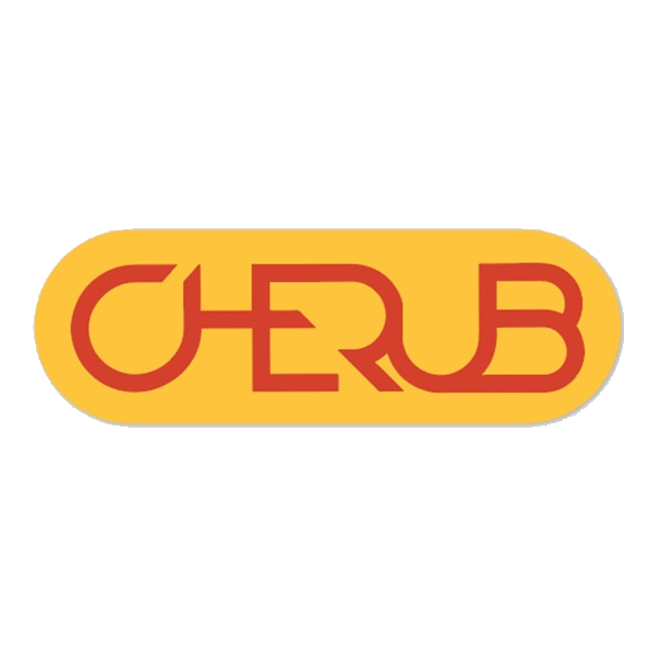 Cherub Logo Sticker