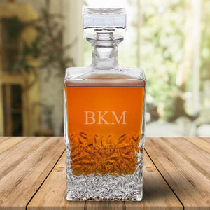 Personalized Rectangular 24 oz. Decanter