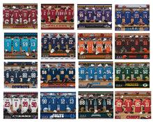 Load image into Gallery viewer, Personalized NFL Locker Canvas Prints (Available in All 32 Teams)
