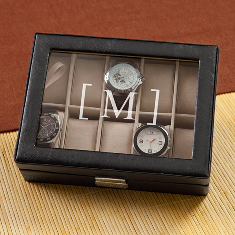 Personalized Men's Watch Box